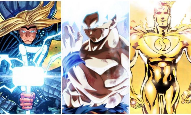 Cosmic Thor vs Ultra Instinct Goku vs Superman Prime One Million