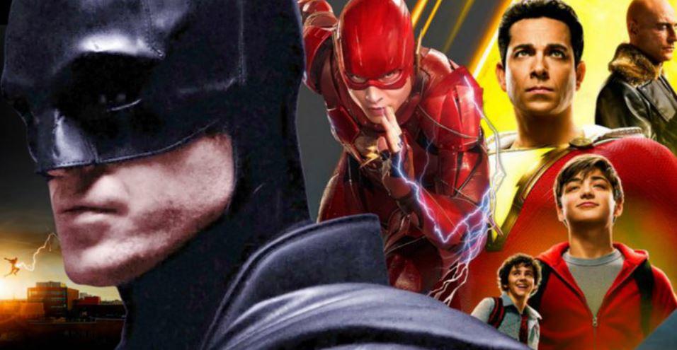 DCEU Movies New Release Dates Batman Shazam Flash