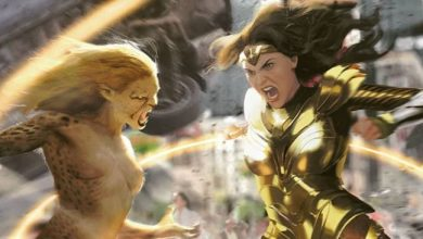 Wonder Woman 1984 Photos Diana vs Cheetah