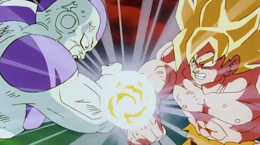 Did Goku and Frieza fight