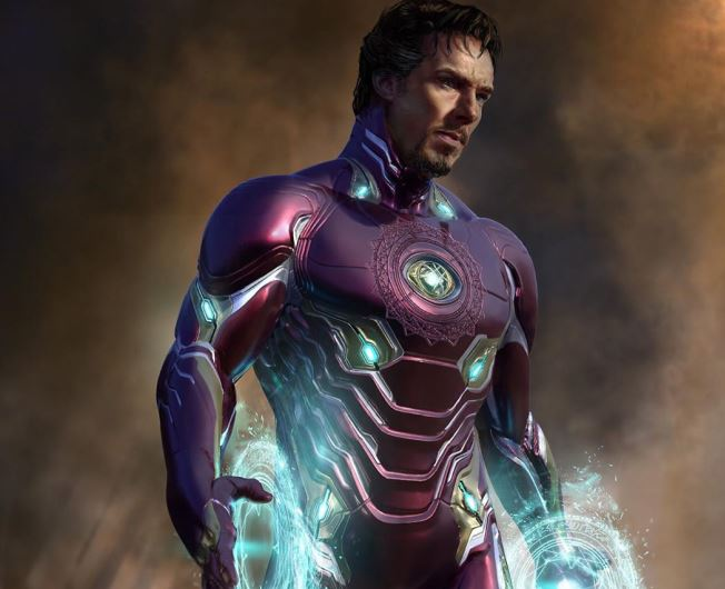 New Concept Arts From Infinity War & Doctor Strange
