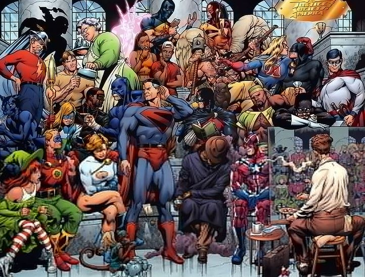 Versions of Earth in The DC MultiVerse