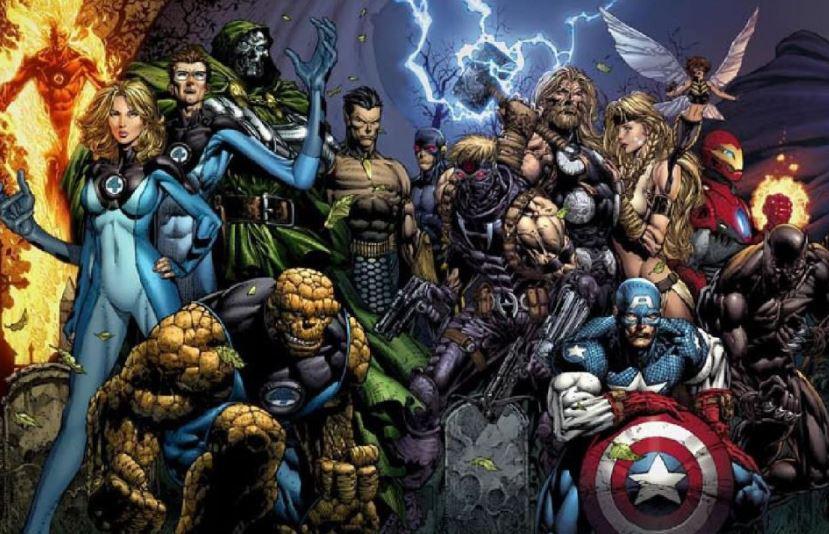 Ultimatum: The First Avengers X-Men & Fantastic 4 Team Up Film