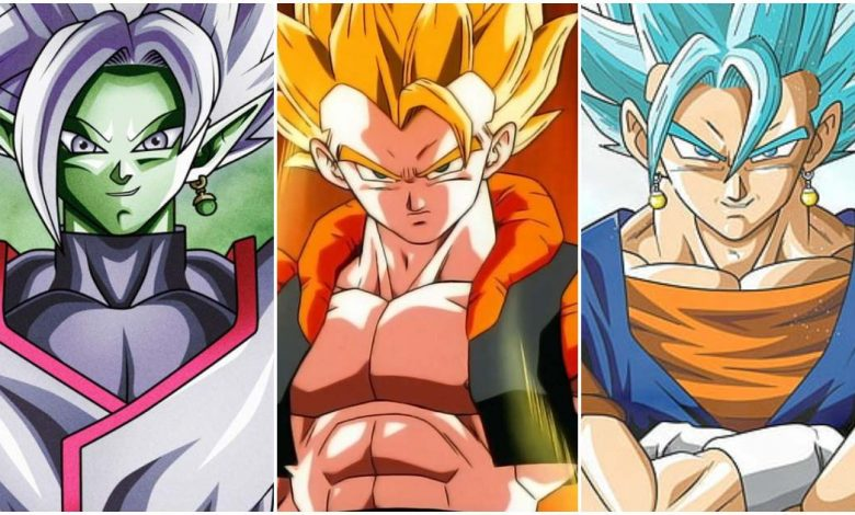 Fusions in Dragon Ball