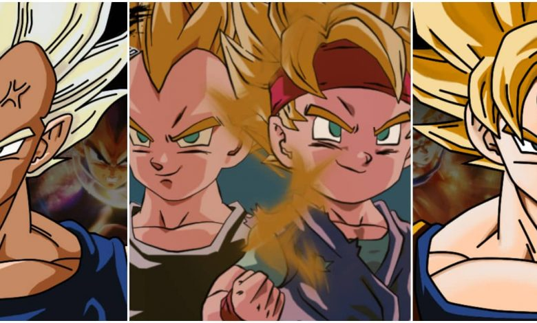Goku And Vegeta's Grandsons replace in Dragon Ball Reboot
