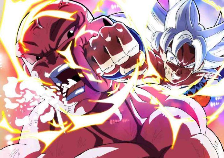 Goku Fights in Dragon Ball
