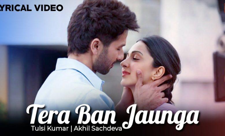 Kabir Singh Tera Ban Jaunga Mp3 Song Download Mr Jatt HD Free