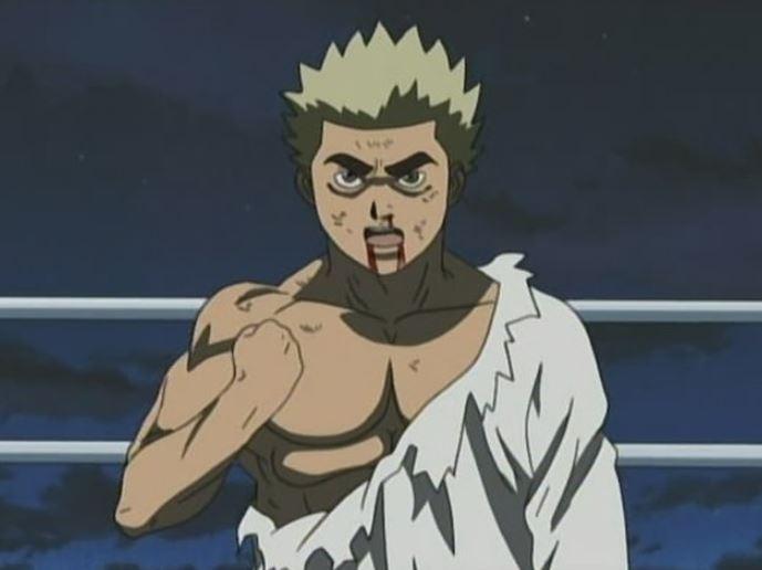 Martial Arts Technique in Anime