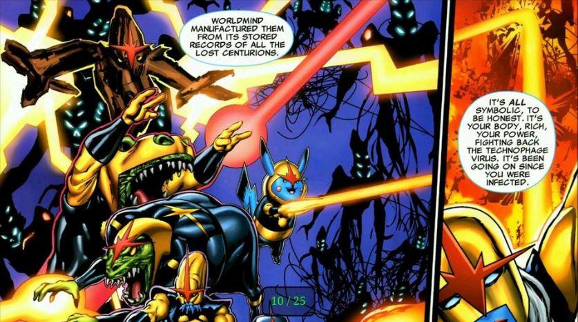 Pikachu joined Marvel's Nova Corps