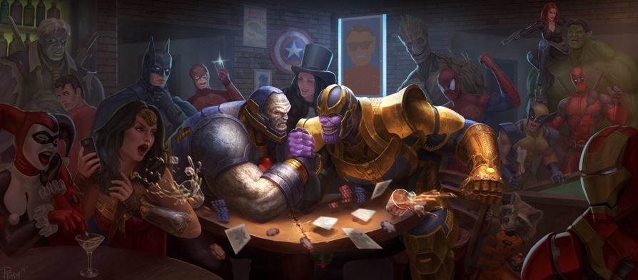 Original Look of Thanos Is Like DC God