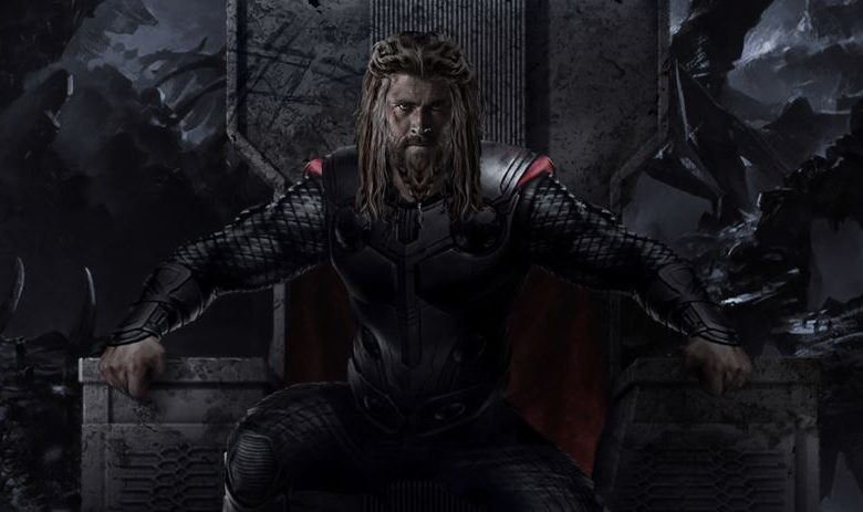 Change in Thor from Endgame to Love And Thunder