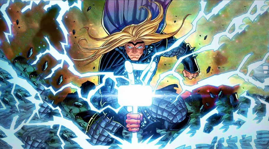 New Cosmic Form of Thor Can Beat Thanos