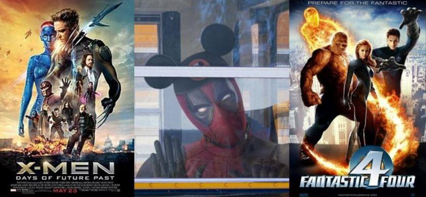 Release Dates for Deadpool, X-Men & Fantastic Four