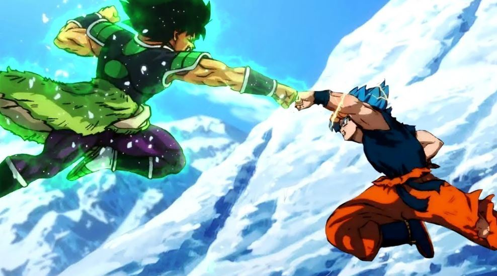 Goku Fights in Dragon Ball