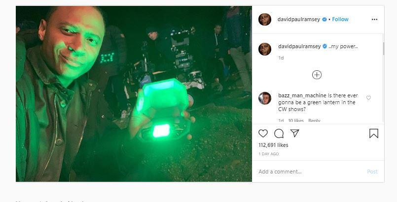 Arrow Confirms Diggle is Green Lantern