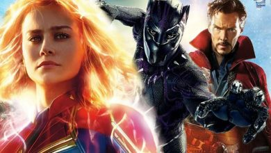 Photo of Alternate Look for Captain Marvel, Black Panther and Doctor Strange Revealed