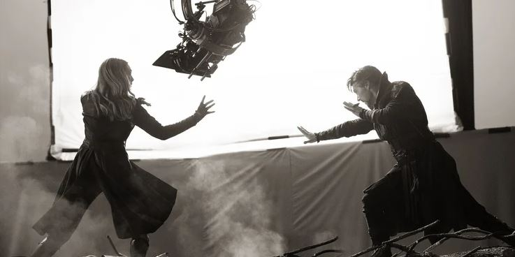 Avengers: Endgame Deleted Scene Reveals a Doctor Strange & Scarlet Witch Team Up