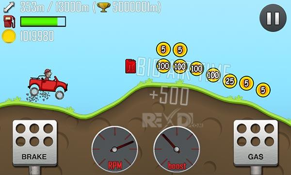 hill climb racing mod apk download hack