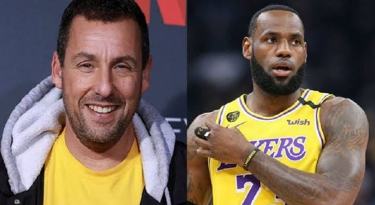 Adam Sandler and LeBron James Team Up