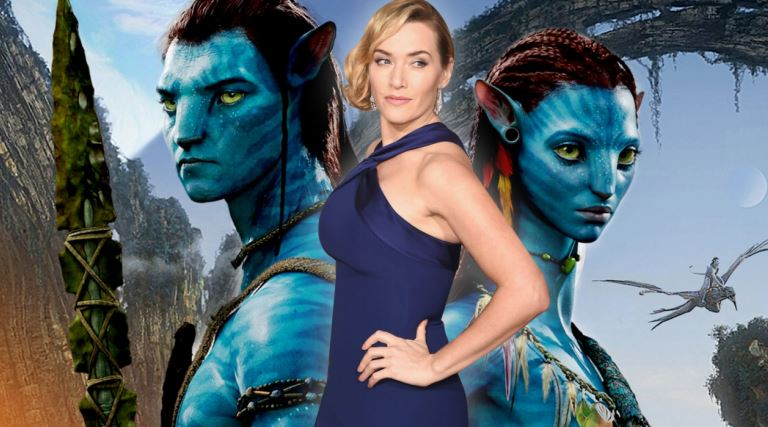 Avatar 2 Set Photo Look At Kate Winslet