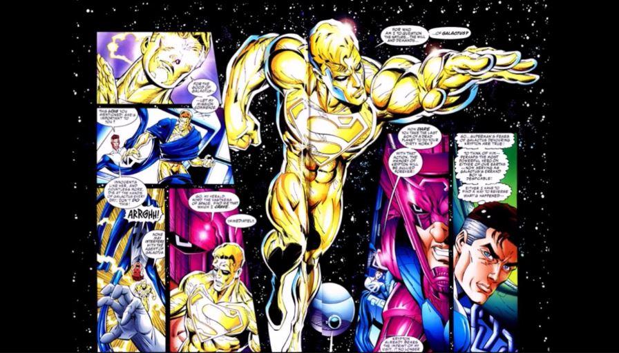 DC Made Superman Herald of Galactus
