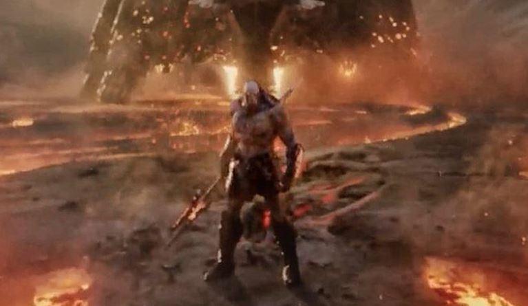 Zack Snyder's Justice League Batman Scene
