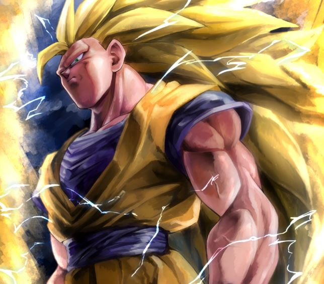 Dragon Ball Z Wasted Super Saiyan 3
