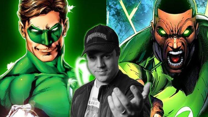 Cast Green Lantern Series Including James Marsden as Hal Jordan