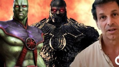 Photo of Justice League – Zack Snyder Reveals Darkseid, Teases Martian Manhunter & More