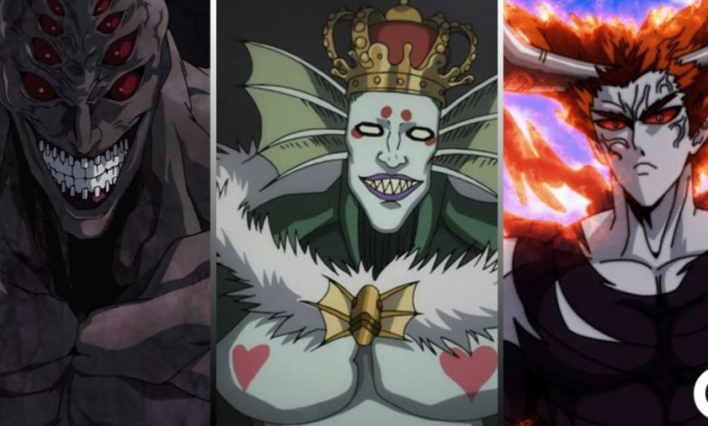 Villains in One Punch Man