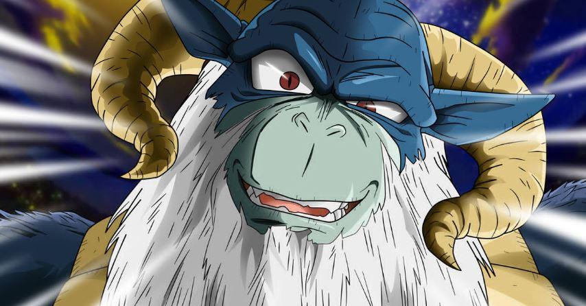 Moro God of Destruction Before Beerus