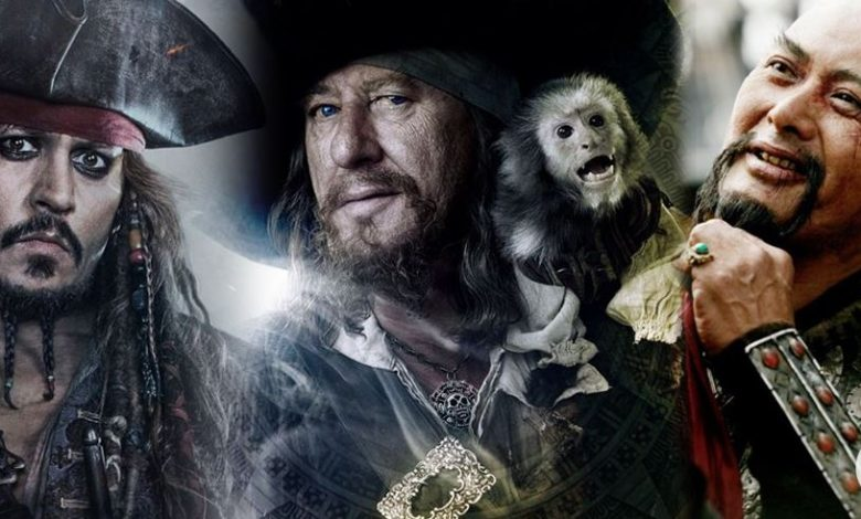 Pirate Lords in Pirates of The Caribbean
