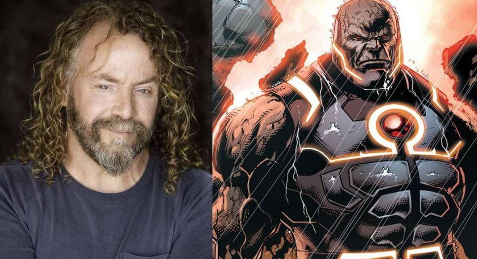 Darkseid Flashback Battle in Justice League