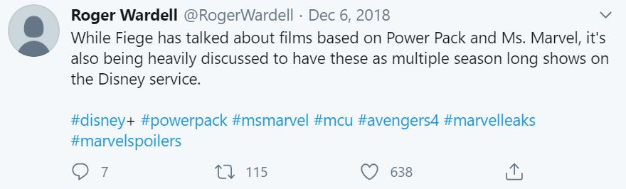 Upcoming MCU Movies And TV Shows Unconfirmed