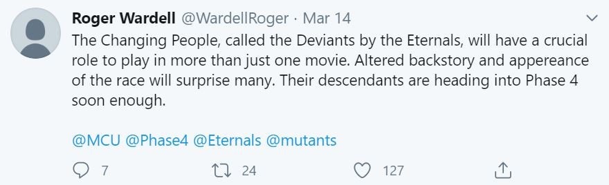 Marvel Change Eternals one major power