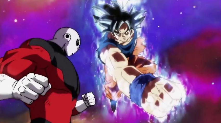 Goku Shot One Punch Man