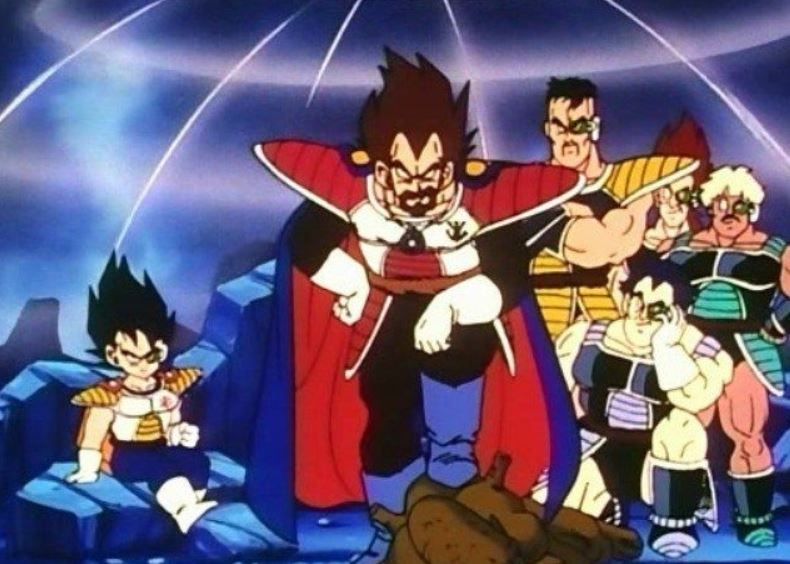 Saiyan Genocide in Dragon Ball Z