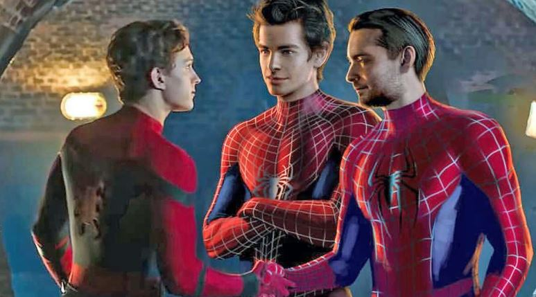Spider-Man Film With Holland Garfield & Maguire