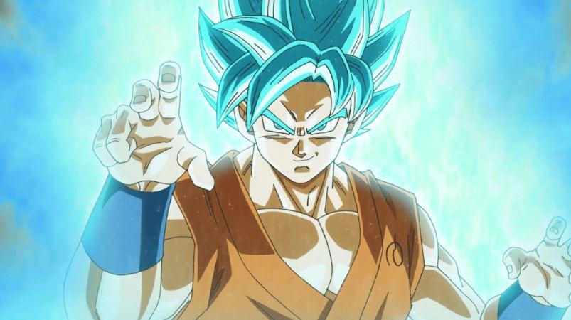 Goku beats Beerus