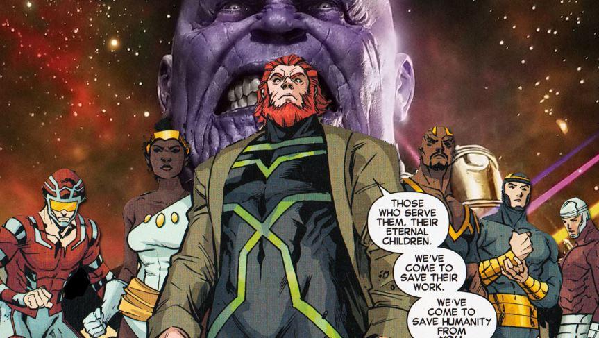Thanos Eternals MCU