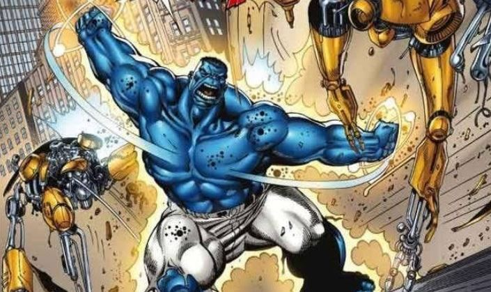 Blue Hulk The Most Powerful Version