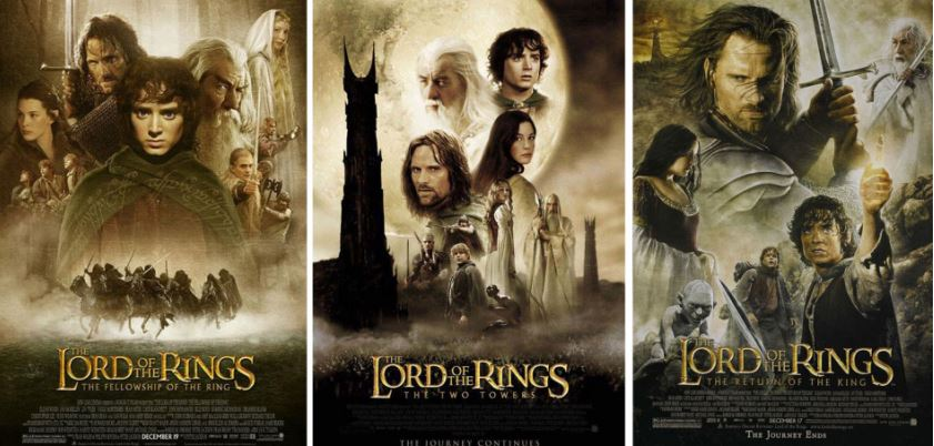 Movie Franchises that Adapted from Books