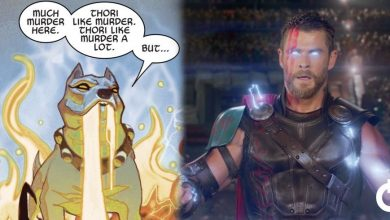 "Thor Has a Dog Came From Hell ""Thori"" Coming to MCU"