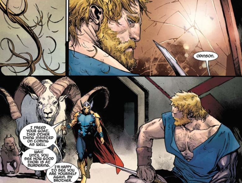 "Thor Has a Dog ""Thori"" Coming to MCU"