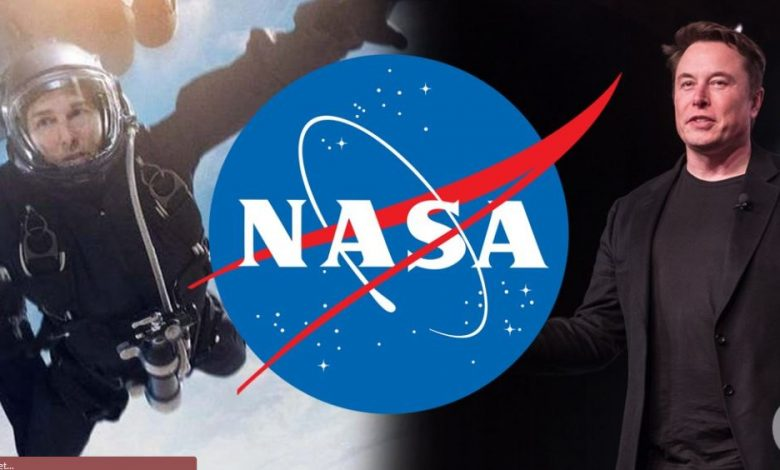 Tom Cruise Elon Musk And NASA Join Hands