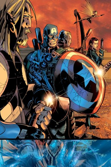 War Between X-Men & Avengers