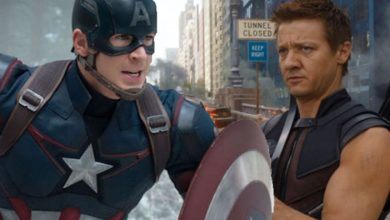 Photo of Unused Captain America 2 Opening & Cap vs. Hawkeye Fight Scene Revealed