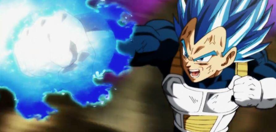 Vegeta Become God of Destruction Dragon Ball