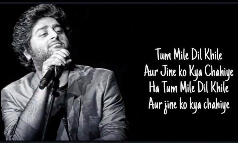 tum mile dil khile arijit singh mp3 download
