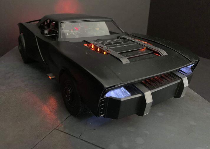 The Batman New Concept Model Batmobile